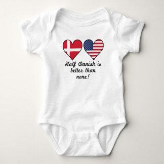 Half Danish Is Better Than None Baby Bodysuit