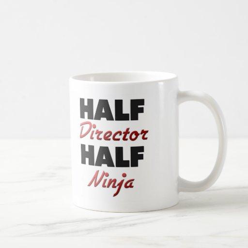 Half Director Half Ninja Mugs