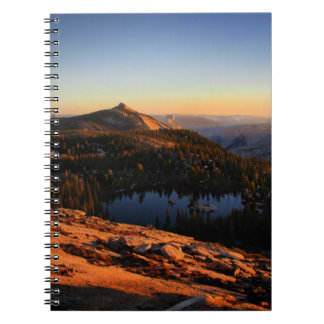 Half Dome and Clouds Rest at Sunset - Yosemite Notebooks