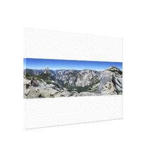 Half Dome and Yosemite Valley - Yosemite Canvas Print