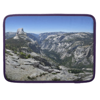Half Dome and Yosemite Valley - Yosemite MacBook Pro Sleeve