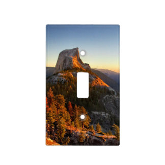 Half Dome at Sunset Detail - Yosemite Light Switch Cover