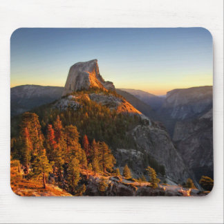 Half Dome at Sunset Detail - Yosemite Mouse Pad