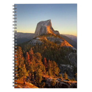 Half Dome at Sunset Detail - Yosemite Notebook
