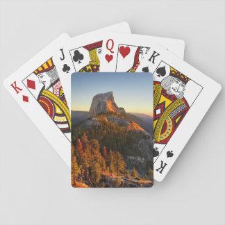Half Dome at Sunset Detail - Yosemite Playing Cards
