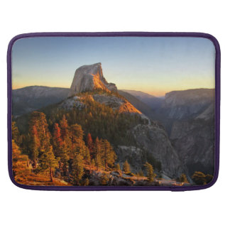 Half Dome at Sunset Detail - Yosemite Sleeve For MacBook Pro