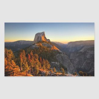 Half Dome at Sunset Detail - Yosemite Sticker