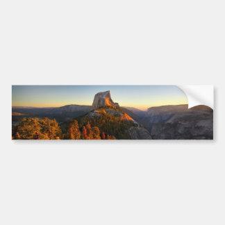 Half Dome at Sunset - Yosemite Bumper Sticker