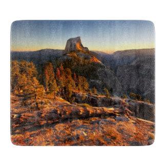 Half Dome at Sunset - Yosemite Cutting Board
