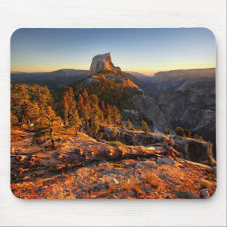 Half Dome at Sunset - Yosemite Mouse Pad