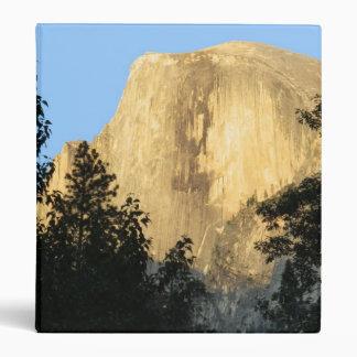 Half Dome at Sunset, Yosemite National Park 3 Ring Binder