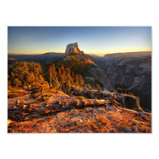 Half Dome at Sunset - Yosemite Photo Print