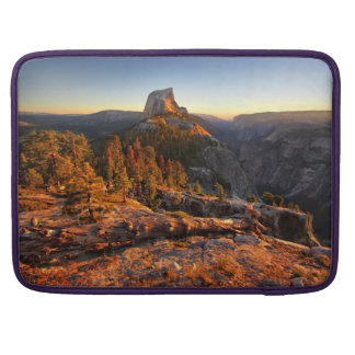 Half Dome at Sunset - Yosemite Sleeves For MacBook Pro