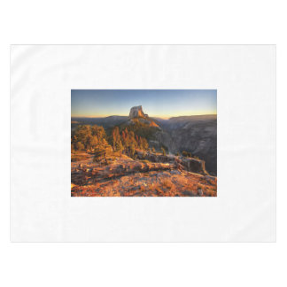 Half Dome at Sunset - Yosemite Tablecloth