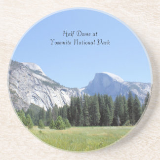 Half dome at yosemite national park photo coaster