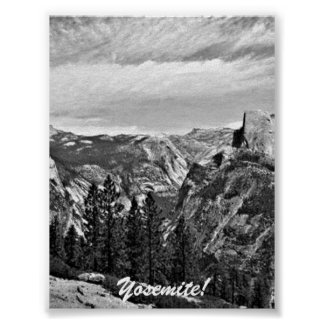 Half Dome at Yosemite National Park Poster