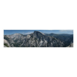 Half Dome from North Dome Poster