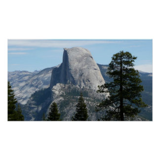 Half Dome from Panorama Trail I in Yosemite Poster