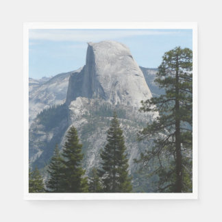 Half Dome from Panorama Trail I Paper Napkin