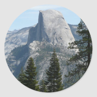 Half Dome from Panorama Trail I Round Sticker