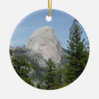 Half Dome from Panorama Trail II Ceramic Ornament