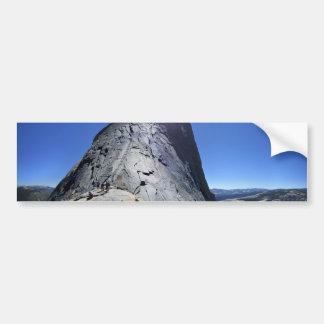 Half Dome from the Base of the Cables - Yosemite Bumper Sticker