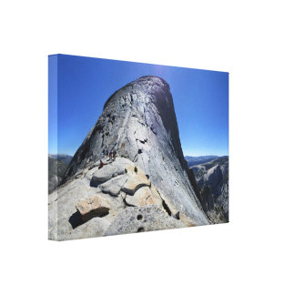 Half Dome from the Base of the Cables - Yosemite Canvas Print