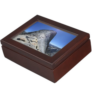Half Dome from the Base of the Cables - Yosemite Keepsake Box