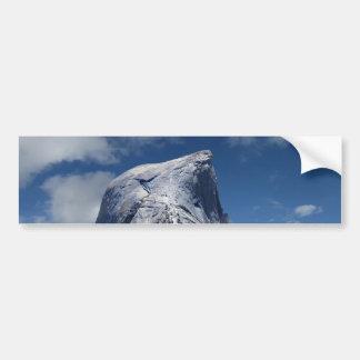 Half Dome from the North - Yosemite Bumper Sticker