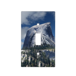 Half Dome from the North - Yosemite Light Switch Cover