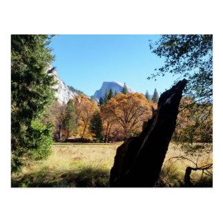 Half Dome in Autumn Postcard