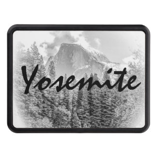 Half Dome in Winter Trailer Hitch Cover