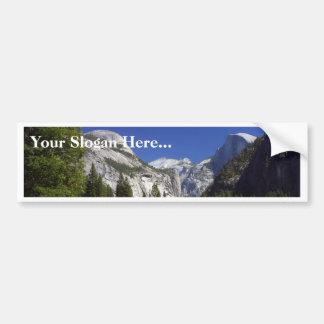 Half Dome In Yosemite National Park Bumper Sticker