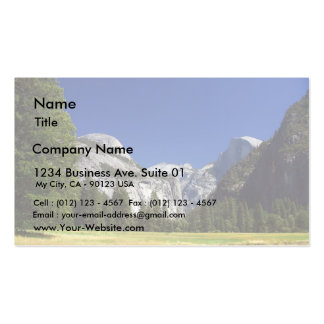 Half Dome In Yosemite National Park Business Card
