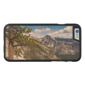 Half Dome landscape, California Carved Maple iPhone 6 Case