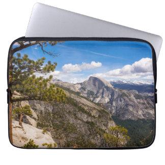 Half Dome landscape, California Computer Sleeve