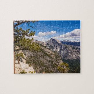 Half Dome landscape, California Jigsaw Puzzle