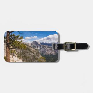 Half Dome landscape, California Luggage Tag