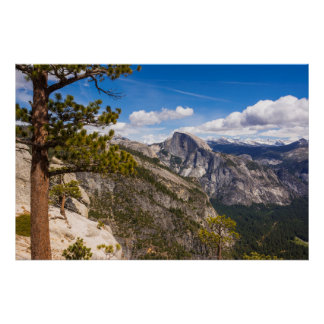 Half Dome landscape, California Poster