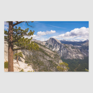 Half Dome landscape, California Sticker