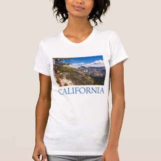 Half Dome landscape, California T-Shirt