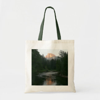 Half Dome Sunset in Yosemite National Park Tote Bag