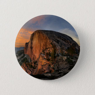 Half Dome Sunset - Yosemite 2 Inch Round Button