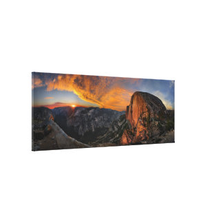 Half Dome Sunset - Yosemite Canvas Print