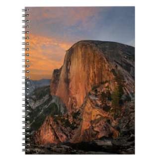 Half Dome Sunset - Yosemite Notebook