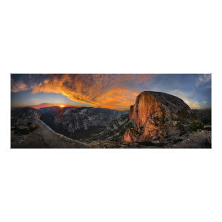 Half Dome Sunset - Yosemite Photo Print