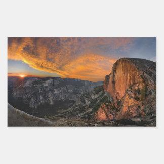 Half Dome Sunset - Yosemite Sticker