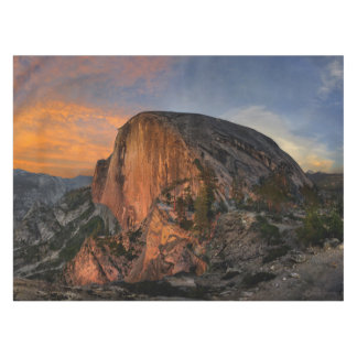 Half Dome Sunset - Yosemite Tablecloth