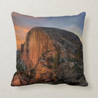 Half Dome Sunset - Yosemite Throw Pillow