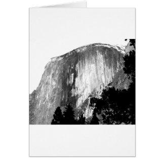 HALF DOME - Yosemite Card